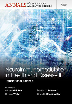 Neuroimunomodulation in Health and Disease II: Translational Science, Volume 1262 (157331899X) cover image