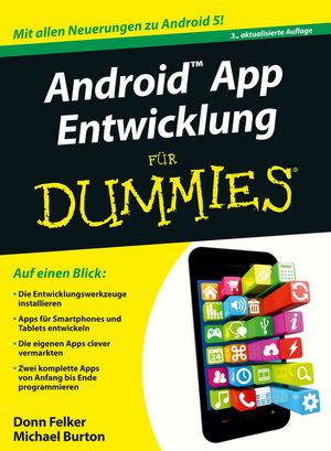 Android App Entwicklung für Dummies, 3. Auflage