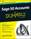 Sage 50 Accounts For Dummies, 3rd UK Edition (1119052300) cover image