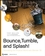 Bounce, Tumble, and Splash!: Simulating the Physical World with Blender 3D (0470192801) cover image