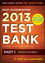 Wiley CIA Exam Review 2013 Online Test Bank 1-Year Access: Part 1, Internal Audit Basics (1118551001) cover image