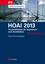 HOAI 2013: Praxisleitfaden für Ingenieure und Architekten (3433603901) cover image
