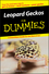 Leopard Geckos For Dummies (0470121602) cover image