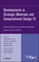 Developments in Strategic Materials and Computational Design III, Volume 33, Issue 10 (1118206002) cover image