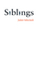 Siblings: Sex and Violence (0745632203) cover image