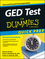 GED Test For Dummies, Quick Prep Edition (1118899903) cover image