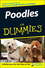 Poodles For Dummies (0470067306) cover image