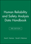Human Reliability and Safety Analysis Data Handbook (0471591106) cover image