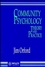 Community Psychology: Theory and Practice (0471938106) cover image