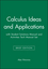 Calculus Ideas and Applications, Brief Edition with Student Solutions Manual & Activities and Technology Manual Set (0471655007) cover image