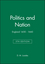 Politics and Nation: England 1450 - 1660, 5th Edition (0631214607) cover image