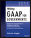 Wiley GAAP for Governments 2015: Interpretation and Application of Generally Accepted Accounting Principles for State and Local Governments (1118979907) cover image