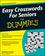Easy Crosswords For Seniors For Dummies (0470648708) cover image