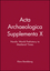 Acta Archaeologica Supplementa X: Nordic World Prehistory to Medieval Times (1405185708) cover image