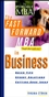 The Fast Forward MBA in Business  (0471146609) cover image