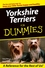 Yorkshire Terriers For Dummies (0764568809) cover image