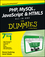PHP, MySQL, JavaScript & HTML5 All-in-One For Dummies (111821370X) cover image