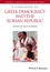 A Companion to Greek Democracy and the Roman Republic (1444336010) cover image