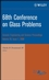 68th Conference on Glass Problems: Ceramic Engineering and Science Proceedings, Volume 29, Issue 1 (0470344911) cover image