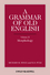 A Grammar of Old English, Volume 2: Morphology (0631136711) cover image