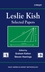 Leslie Kish: Selected Papers (0471266612) cover image