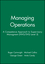 Managing Operations: A Competence Approach to Supervisory Managment (NVG/SVQ Level 3) (0631190112) cover image