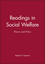 Readings in Social Welfare: Theory and Policy (0631220712) cover image