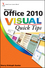 Office 2010 Visual Quick Tips (1118036212) cover image