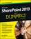 SharePoint 2013 For Dummies (1118510712) cover image