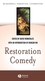 Restoration Comedy (0631234713) cover image