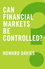 Can Financial Markets be Controlled? (0745688314) cover image