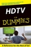 HDTV For Dummies (0764584715) cover image