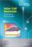 Solar Cell Materials: Developing Technologies (0470065516) cover image