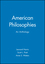 American Philosophies: An Anthology (0631210016) cover image