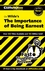 CliffsNotes on The Importance of Being Earnest (0764544616) cover image