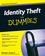 Identity Theft For Dummies (0470565217) cover image