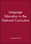 Language Education in the National Curriculum (0631189017) cover image