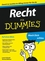 Recht für Dummies (3527642218) cover image
