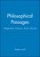 Philosophical Passages: Wittgenstein, Emerson, Austin, Derrida (0631192719) cover image