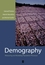 Demography: Measuring and Modeling Population Processes (1557864519) cover image