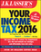 J.K. Lasser's Your Income Tax 2016: For Preparing Your 2015 Tax Return (1119133920) cover image