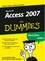 Access 2007 für Dummies (3527657320) cover image