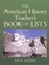 American History Teacher's Book of Lists (0130925721) cover image