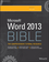 Word 2013 Bible (1118488121) cover image