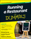 Running a Restaurant For Dummies, 2nd Edition (1118027922) cover image