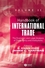 Handbook of International Trade: Economic and Legal Analyses of Trade Policy and Institutions (1405120622) cover image