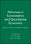 Advances in Econometrics and Quantitative Economics: Essays in Honor of Professor C.R. Rao (1557863822) cover image