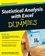 Statistical Analysis with Excel For Dummies, 2nd Edition (0470535423) cover image