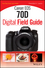 Canon EOS 70D Digital Field Guide (1118169123) cover image