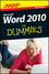 AARP Word 2010 For Dummies, Mini Edition (1118232623) cover image